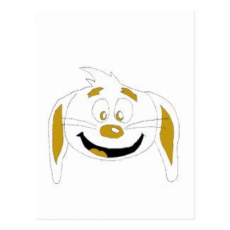 Fan de Hip Hop del conejo del dibujo animado Postal