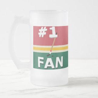 Fan de hockey #1 un tacto de la taza de Noel