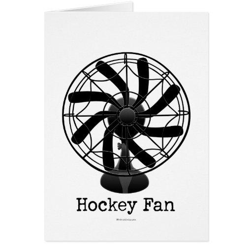 Fan de hockey (#2) tarjeta
