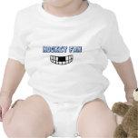 Fan de hockey trajes de bebé