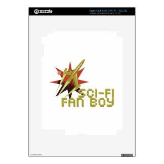 Fan de la ciencia ficción pegatinas skins para iPad 3