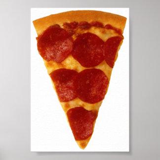 Fan de la pizza poster