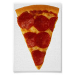 Fan de la pizza póster