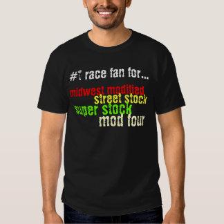 fan de la raza #1 para camisas