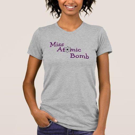 Fan de la Srta. bomba atómica Camisetas