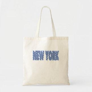 Fan de Nueva York Bolsa Tela Barata