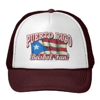 ¡Fan de Puerto Rico Beisbol! Gorra