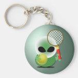 Fan de tenis llavero personalizado