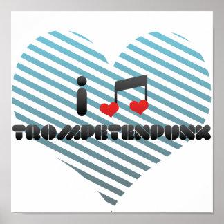 Fan de Trompetenpunk Poster