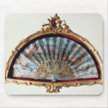Fan, decorated with a scene of a fete mousepads