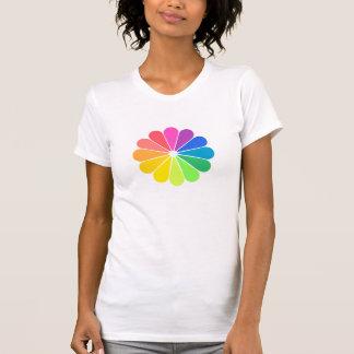 Fan del arco iris polera