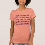 fan del cereal seco camisetas