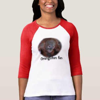 Fan del orangután de la fauna camisas