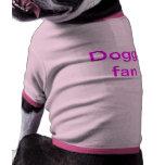Fan del perrito camiseta de perrito