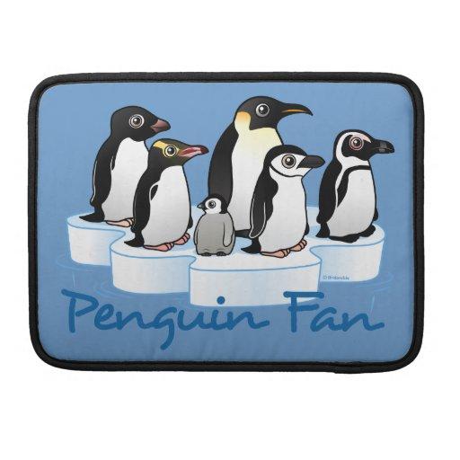 Fan del pingüino funda macbook pro