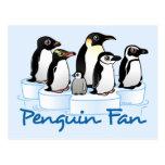 Fan del pingüino postales