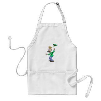 Fan eating Puck Adult Apron