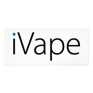 fan electrónica del cigarrillo de Vaping del iVape Tarjetas Publicitarias Personalizadas