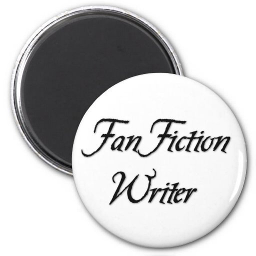 Fan Fiction Writer 2 Inch Round Magnet
