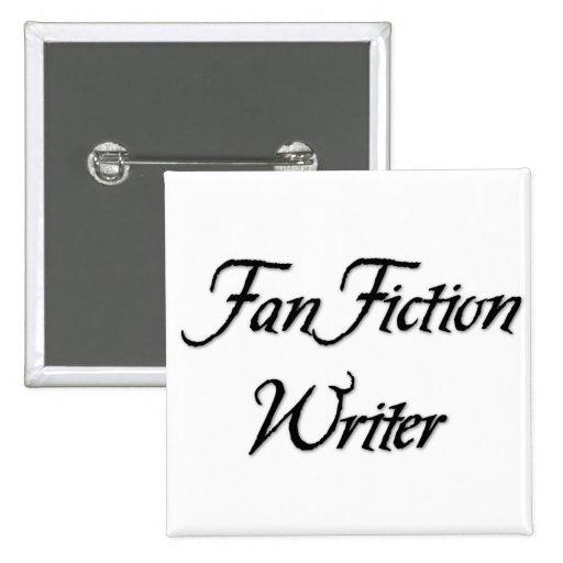 Fan Fiction Writer Pins