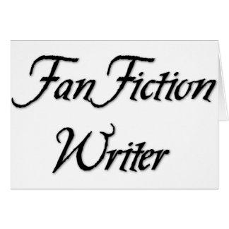 Fan Fiction Writer Card