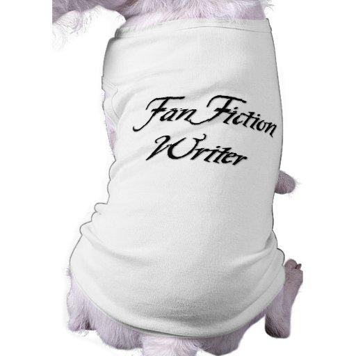 Fan Fiction Writer Pet Tee