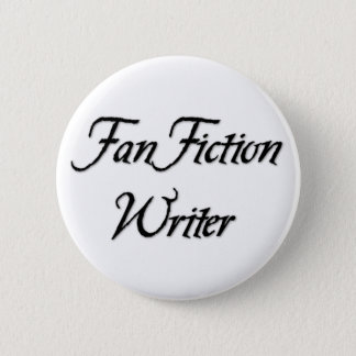 Fan Fiction Writer Pinback Button