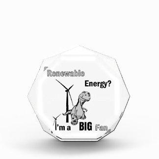 Fan grande de la energía renovable