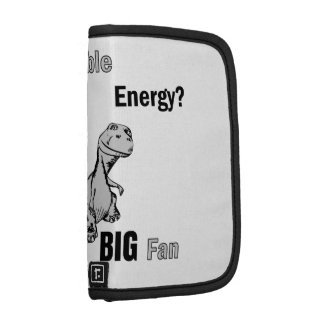 Fan grande de la energía renovable organizador