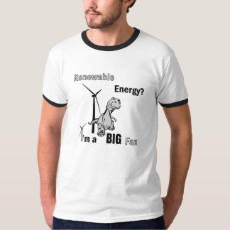 Fan grande de la energía renovable playera