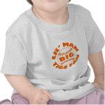Fan GRANDE de los tigres del pequeño hombre Camisetas