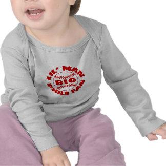 Fan GRANDE de Phils del pequeño hombre Camisetas