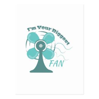 Fan_I m_Your_Biggest_Fan Postcard