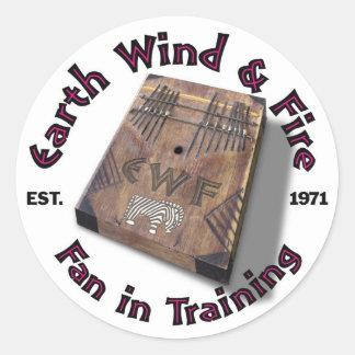 Fan In Training Stickers