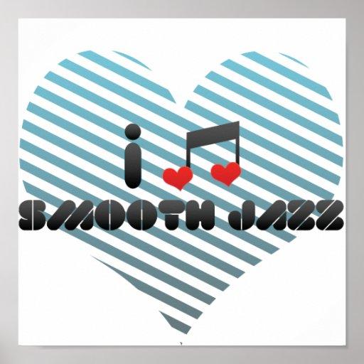 Fan lisa del jazz impresiones