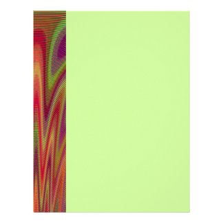 Fan of Colors Abstract Letterhead