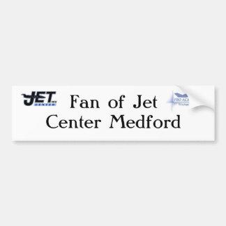Fan of Jet Center Center Medford Bumper Sticker Car Bumper Sticker