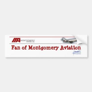 Fan of Montgomery Aviation Bumper Sticker