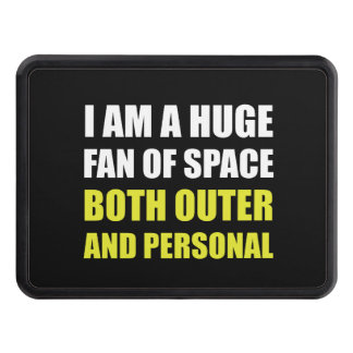 Fan Of Space Outer And Personal Hitch Cover