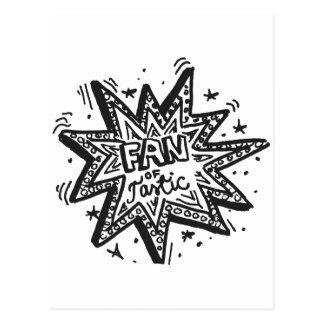 Fan Of Tastic 1 Post Cards