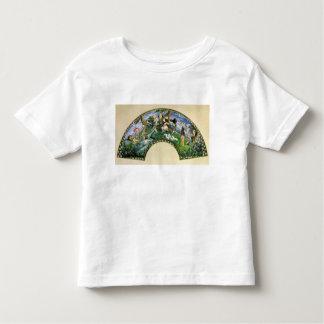 Fan que representa George Sand y a sus amigos Camisas