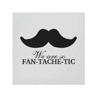 Fan-tache-tic Canvas Print