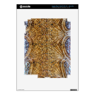 Fan Vaulted Ceiling Skin For iPad 3