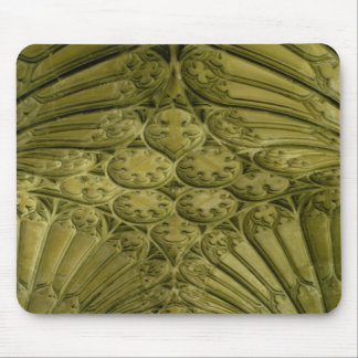 Fan vaulting in the cloister mouse pad