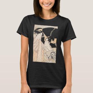 Fan Vendor Kitagawa Utamaro  japanese ladies T-Shirt