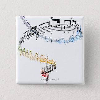Fanataisie (Opus 7) 2 Pinback Button