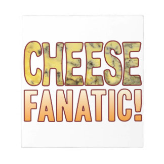 Fanatic Blue Cheese Notepad