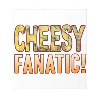 Fanatic Blue Cheesy Notepad
