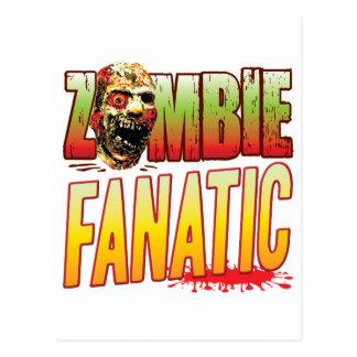 Fanatic Zombie Head Postcard