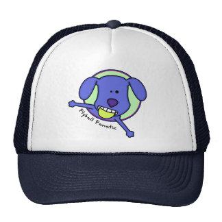 Fanático azul de Flyball del dibujo animado Gorras De Camionero